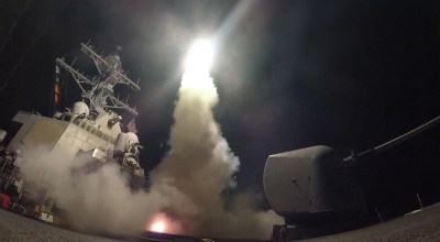 BREAKING: US, UK and France launch air strikes against multiple targets in Syria