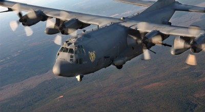 US Air Force AC-130 Gunships Being Jammed by Adversaries in Syria