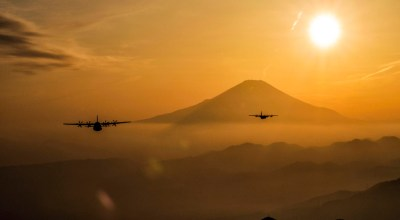 Picture of the Day: Two Air Force C-130J Super Hercules