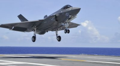 Watch: Awesome US Navy F-35C Lightning II Visuals!