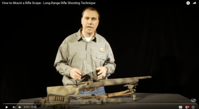 Long-Range Rifle Shooting Tips: How to Mount a Rifle Scope with Ryan Cleckner