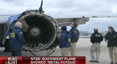 NTSB Reports States Southwest Airlines Followed Maintenance Protocols