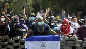 Protests Turn Ugly as Ortega Kills 25 or More in Nicaragua