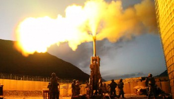 Bringing more guns to a gun fight: Army artillery could soon be firing from the deck of Navy ships, and that's just the start