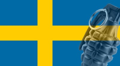Sweden and their problem with hand grenades