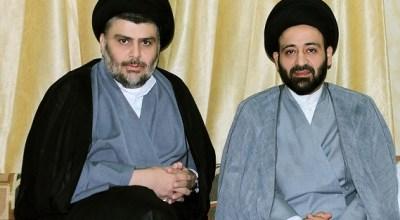 Muqtada al-Sadr meets with Ammar al-Hakim to discuss the future of Iraqi government