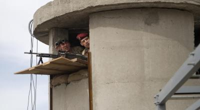 Convicted terrorists attempt a prison escape in Kurdistan