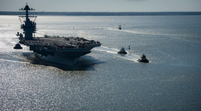 More problems for the Navy's newest carrier — now it's the propulsion system