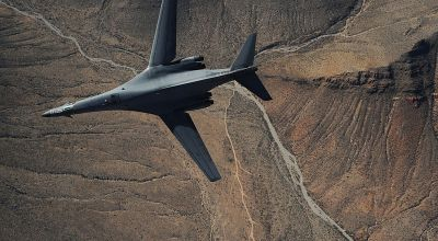 Boeing has plans to turn the B-1B into a gun ship, but is it a flight of fancy?