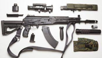 Russian Troops Getting New, Updated Rifles AK-12, AK-15