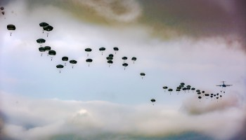 Army Paratroopers 82nd Airborne Division Airborne Review at Fort Bragg
