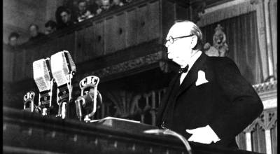"""On This Day 1940, Churchill Offers 'Blood, Toil, Tears and Sweat"""""""