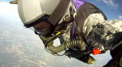 Watch: David Roe 30,063 ft HALO Jump with 2 Minute Freefall