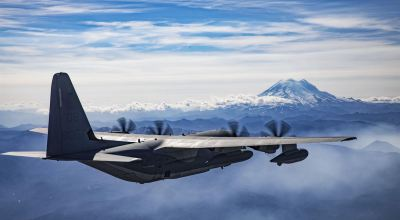 Picture of the Day: Marine Corps KC-130J Hercules Mountain View
