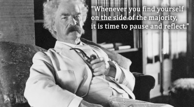 Five Mark Twain quotes as they relate to 2018