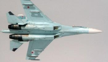 Russian Su-27 buzz us navy ep-3