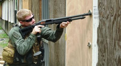 How to breach a door using a shotgun