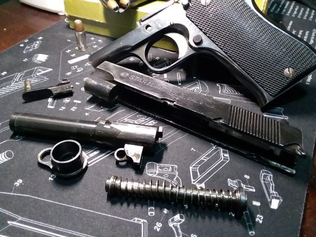 The Spanish Star BM 9mm service pistol