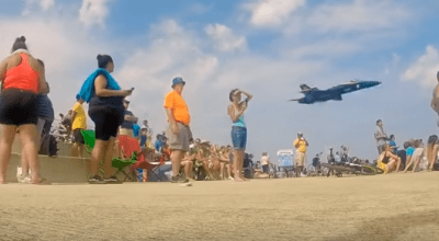 Watch: Best US Navy Blue Angels 'Sneak Pass' Ever? You Be The Judge!