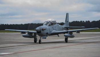 US Navy pilot dies in Light Attack aircraft crash