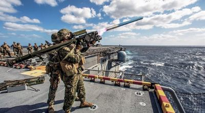 SOFREP Pic of the Day: Marines train on Stinger missiles at sea