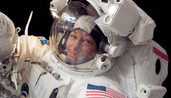 Legendary astronaut with more time in space than any other retires