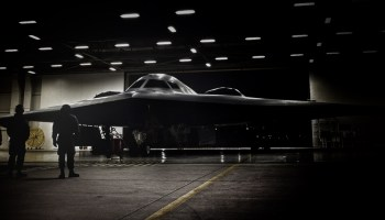 Pentagon says new bomber is progressing on schedule beneath shroud of secrecy