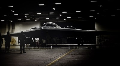 Pentagon says new bomber is progressing on schedule beneath shroud of secrecy