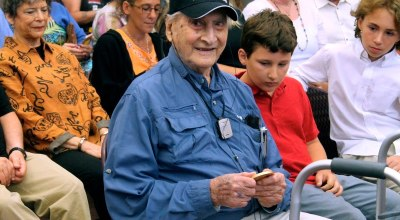 OSS Captain Martin Gelb Awarded Congressional Gold Medal in NH