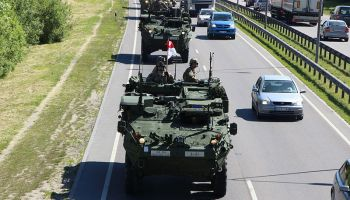 15 US Army soldiers hospitalized after Stryker collision in Lithuania