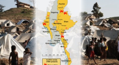 Burma/Myanmar violence: From the Rohingya to the Kachin