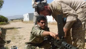 The United States is still working to modernize the Kurdish Peshmerga