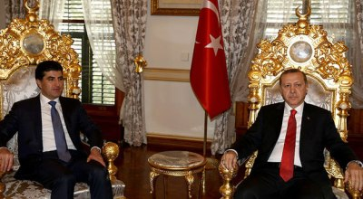 Kurdish Prime Minister Barzani working to establish peace between Turkey and Kurdistan Workers' Party