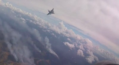 Watch: The Swedish Air Force is fighting wildfires by dropping bombs on them from fighter jets