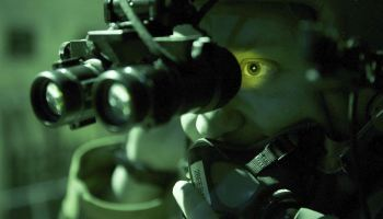 SOFREP Pic of the Day: Using night vision goggles aboard an Air Force C-130