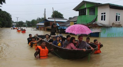 Monsoons hit Myanmar/Burma hard