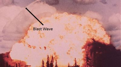 Watch: The ripples of blast waves