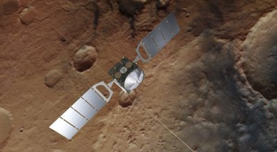 Scientists discover liquid water lake beneath the surface of Mars