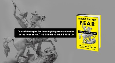 'Mastering Fear: A Navy SEAL's Guide' by Brandon Webb and John David Mann — Fear of the Water