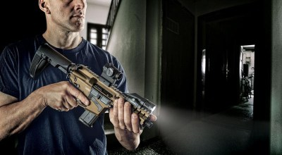 CMMG Mk57 GUARD Chambered in FN 5.7×28: Blazing Fast, Low Recoil