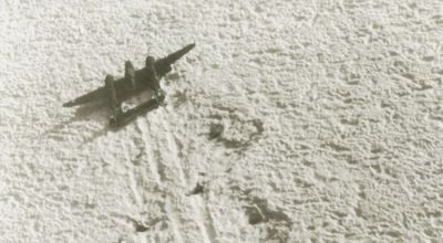 Recovery team discovers lost WWII fighter buried beneath hundreds of feet of ice in Greenland