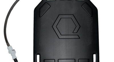 Qore Performance IcePlate Black: Armor, Cooling and Hydration