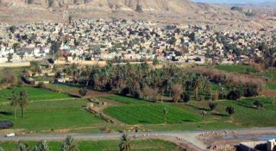 """Tuz Khurmatu town is the main center of the Tuz District in Saladin Governorate, Iraq, located 55 miles southeast of Kirkuk. The population is mostly Turkoman with significant Kurd and Arab minorities. The name of the city is Turkoman, meaning, """"dusty date palm hills."""" 