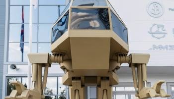 Science fiction? Russian company responsible for the AK-47 unveils Star Wars-like fighting vehicle