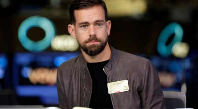 "FILE- This Nov. 19, 2015, file photo shows Square CEO and Twitter CEO Jack Dorsey being interviewed on the floor of the New York Stock Exchange. In a series of tweets late Tuesday, Aug. 7, 2018, Dorsey defended Twitter's decision not to ban right-wing conspiracy theorist Alex Jones and his ""Infowars"" show, as many other social media platforms have done, saying he did not break any rules. 