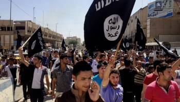 The crumbling skeleton of the Islamic State rattles on for now