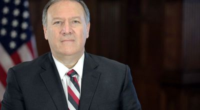 Portrait of Mike Pompeo, President-elect Donald Trump's nominee for Director of the Central Intelligence Agency. | By Office of the President-elect, via Wikimedia Commons