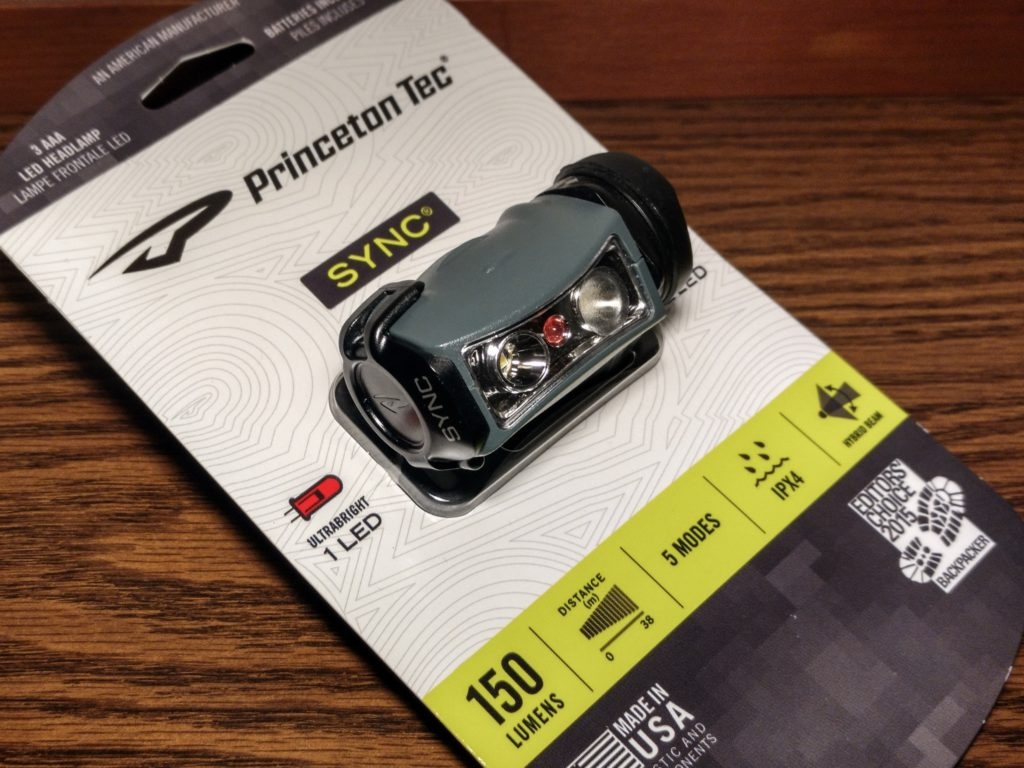Princeton Tec Sync headlamp revisited: Still good