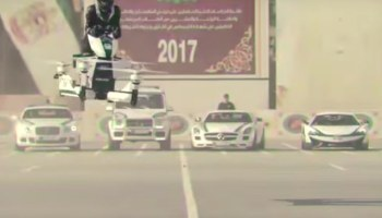 Check out the 'hoverbikes' Dubai police are now using