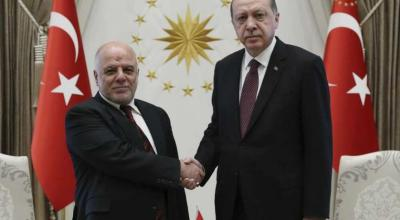 President Recep Tayyip Erdoğan received Prime Minister Haider Al-Abadi of Iraq, who is in Turkey for a working visit, at the Presidential Complex. | Presidency of the Republic of Turkey